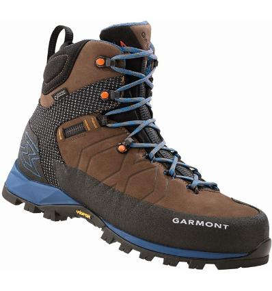 Shoes GARMONT Toubkal GTX UK 9 / dark braun/blue