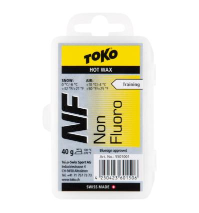 TOKO, NF Hot Wax yellow - vosk, 40 g