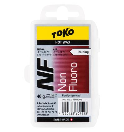 TOKO, NF Hot Wax red - vosk, 40 g