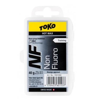 TOKO, NF Hot Wax black -vosk, 40 g