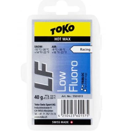 TOKO, LF Hot Wax blue - vosk, 40 g