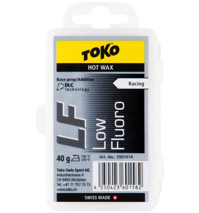 TOKO, LF Hot Wax black - vosk, 40 g