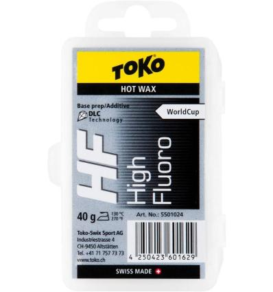 TOKO, HF Hot Wax black - vosk, 40 g