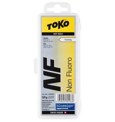 TOKO, NF Hot Wax yellow, 120 g
