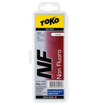 TOKO, NF Hot Wax red, 120 g
