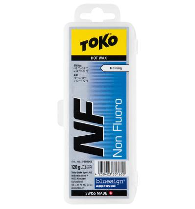 TOKO, NF Hot Wax blue, 120 g