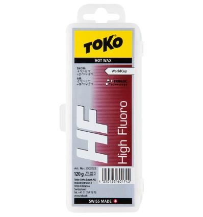 TOKO, HF Hot Wax red, 120 g