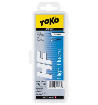 TOKO, HF Hot Wax blue, 120 g