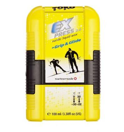 TOKO, Express Grip & Glide Pocket - tekutý vosk, 100 ml