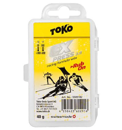 TOKO, Toko Expres Racing Rub - on - vosk, 40 g