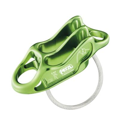 PETZL, Reverso 4, apple green, 1/2 ≥ 7,5mm, 1 ≥ 8,9mm