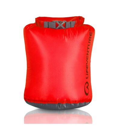 Lifeventure, Ultralight Dry Bag, 2 L, red