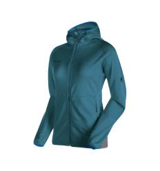 Mammut, Get Away ML Hooded Jacket Women, EU S, orion melange