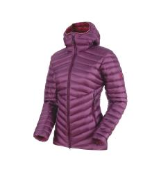 Mammut Broad Peak IN Hooded Jacket Women EU XS / grape-beet