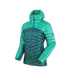 Mammut Broad Peak IN Hooded Jacket Women EU M / teal-atoll