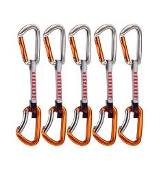 Mammut 5er Pack Wall Key Lock Express Sets 10 cm / silver-orange