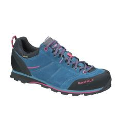 Mammut, Wall Guide Low GTX Wmn, UK 4,5, dark pacific-light carmine