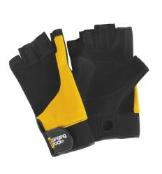 Rukavice Singing Rock Gloves Falconer EU 8 / yellow-black