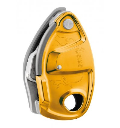 PETZL, GriGri +, orange, 8,5mm-11mm