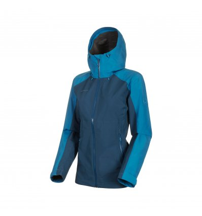 Convey Tour HS Hooded Jacket women / wing teal-sapphire