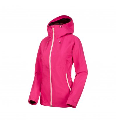 Convey Tour HS Hooded Jacket women / pink-candy