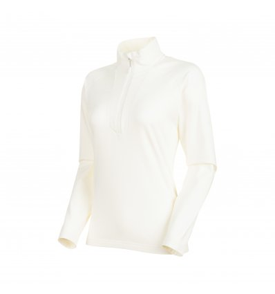 Snow ML Half Zip Pull Women / bright white