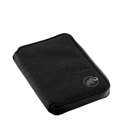 Mammut Zip Wallet Melange / black