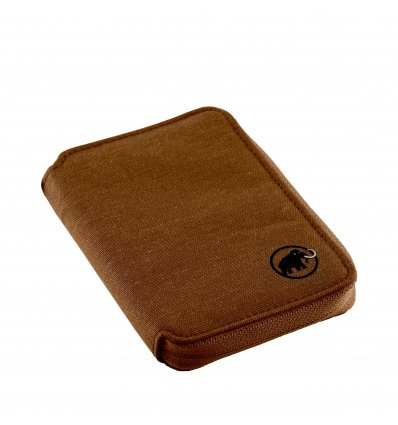 Mammut Zip Wallet Mélange, timber