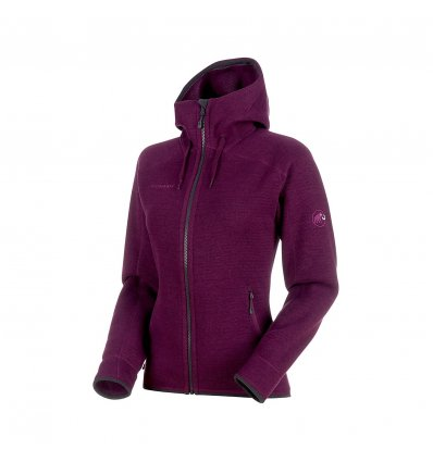Arctic ML Hooded Jacket women / grape-phantom melange