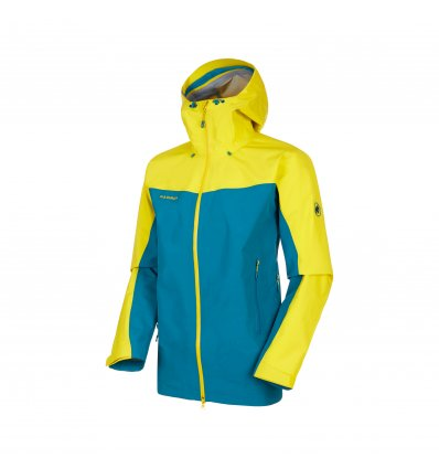 Mammut Crater HS Hooded Jacket Men  / sapphire-blazing