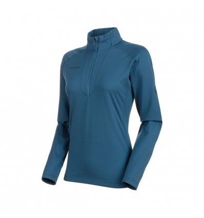 Snow ML Half Zip Pull Women / wing teal