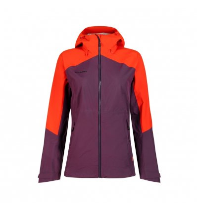 Convey Tour HS Hooded Jacket women / blackberry-spicy