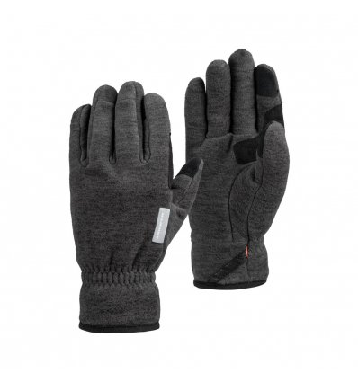Mammut Fleece Glove / black melange