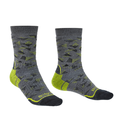 Bridgedale Hike MW MP Boot / grey/lime