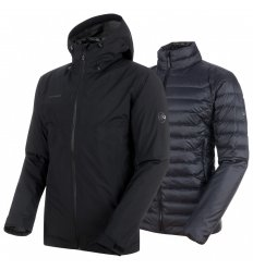 Convey 3in1 HS Hooded Jacket Men / black