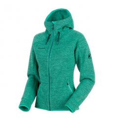 Arctic ML Hooded Jacket women / atoll-teal melange