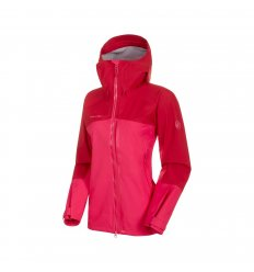 Mammut Masao HS Hooded Jacket Wmn / dragon fruit-scooter