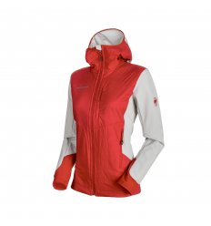 Mammut Foraker IN Light Hooded jkt Wmn / magma-marble