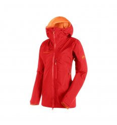 Mammut Nordwand Pro HS Hooded Jacket Women / sunset