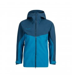 Mammut Crater HS Hooded Jacket Men  / sapphire-wing teal