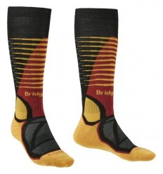 Bridgedale Ski Midweight  / Black/gold